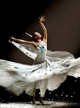 傣族少数民族孔雀舞蹈大摆裙表演服演出服饰杨丽萍雀之灵舞蹈同款