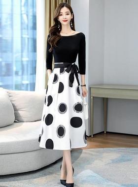 迅仕2021春夏季新款GOIISL古素里服饰点腰带高腰时尚潮流半截裙