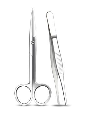 医用手术剪刀医护纱布眼科不锈钢镊子家用宠物医疗器械用品工具ZX