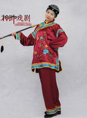戏剧媒婆演出服装老太太媒婆衣服地主婆秧歌中老年俏夕阳广场舞蹈