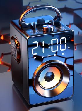 诺西H3蓝牙音箱大音量音响家用小型便携式无线重低音炮3d环绕广场舞店铺专用微信收款语音播报器户外高品质