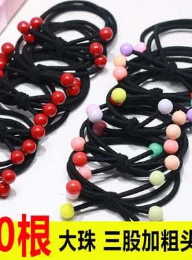 皮筋发绳头绳韩国小清新简约个性扎头发橡皮筋饰品发圈马尾皮套女