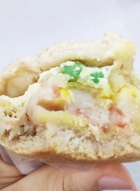 全麦面包粗粮代餐欧包龙虾烧卖芝士奶酪土豆泥健康早餐速食100克
