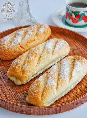 龙马族【米面包3口味装】无蔗糖健身代餐面包欧包营养健康早餐
