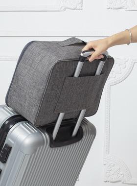 牛津布出差短途行李包男手提旅游拉杆箱大容量衣物收纳袋防水便携