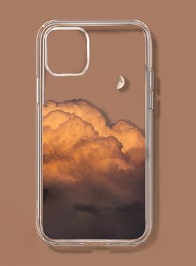 艺术云层适用苹果13/12华为小米11OPPOreno6荣耀vivo一加89手机壳