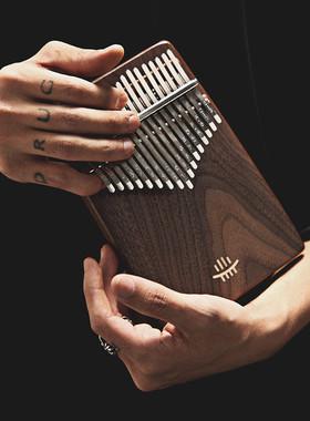 专业卡林巴拇指琴21音手琴17音kalimba板式初学者空灵乐器便携式