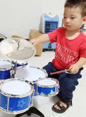 大号儿童玩具架子鼓初学者敲打宝宝小孩爵士鼓音乐器吉他益智61