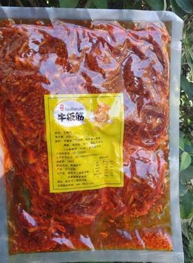 东北秘制板筋丝牛板筋网红食品袋装美食延吉特色甜辣口200克牛肉