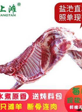 盐池滩羊半只羊宁夏特产16斤羊肉新鲜羊半只生鲜全羊整只年货