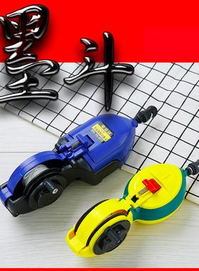 墨斗木工划线器手动全自动专用工具弹线手摇墨线工地放线装修神器