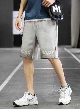GKO(服饰)短裤男休闲外穿夏季潮牌宽松五分运动裤薄款男士裤子