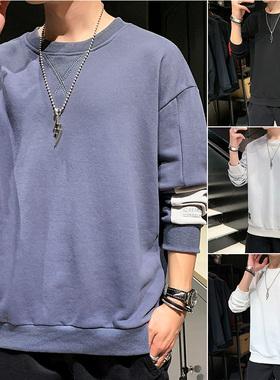 GKO(服饰)卫衣男士秋季2020年新款宽松衣服潮流秋衣秋装长袖t恤