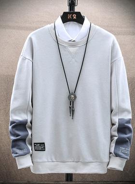 GKO(服饰)长袖T恤男士2020新款秋季卫衣潮流打底衫上衣服秋衣