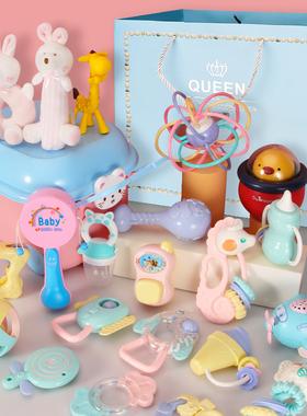 新生婴儿礼盒满月百日礼物初生男女宝宝玩具衣服套装母婴用品大全