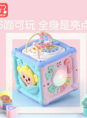 益智百宝箱初生刚出生宝宝满月母婴用品大全新生婴儿玩具礼盒高档