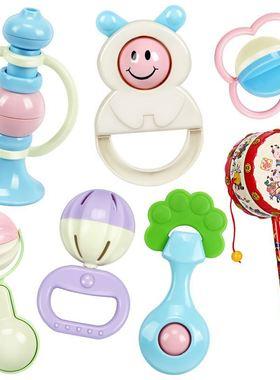 女宝宝早教哄娃神器婴儿玩具幼儿母婴多功能室内新生儿手摇铃