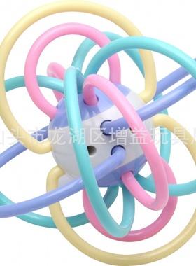 手抓球 婴儿玩具  牙胶 磨牙棒 母婴用品 摇铃 曼哈顿 爆款