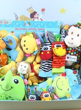 婴儿用品宝宝玩具礼盒套装新c生儿满月百天玩具幼儿母婴礼品