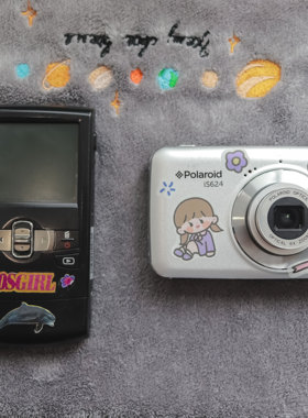 可自拍可美颜可拍视频 宝丽来学生平价复古ccd老数码相机便携高清
