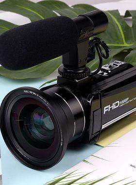 高清数码摄像机专业拍短视频会议课程家用旅游摄影机小随身带新手