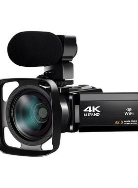 KOMERY AF14K高清数码摄像机家用旅游婚庆快手短视频直播录制摄录
