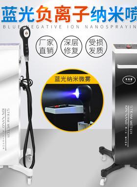 美发纳米护理喷雾机立式蓝光头发喷雾机手持式护发养发焗油机热喷