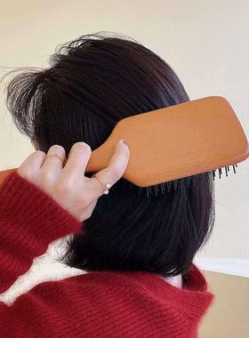 护发梳子进口气垫梳男女美发梳气囊顺发按摩梳顺发木梳
