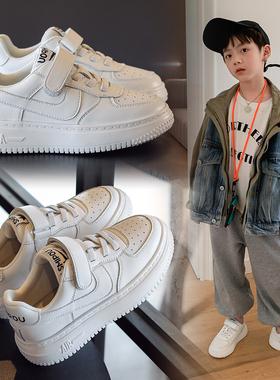 男童鞋2021秋季新款儿童透气板鞋春秋男孩运动鞋休闲小白鞋潮鞋子