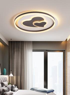 现代LED圆形吸顶灯北欧创意个性艺术网红灯具儿童房卧室书房灯饰