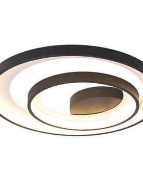 新款吸顶灯led简约现代卧室灯北欧ins网红灯创意个性灯具2020