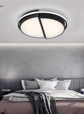长方形现代网led卧室吸顶灯创意款大气红灯简约个性灯具北欧家用