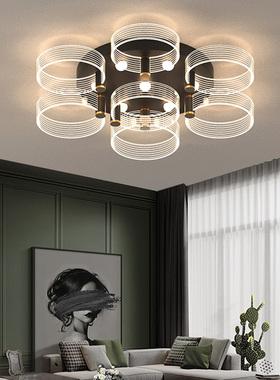 灯具吸顶灯大气北欧家用客厅个性新款红灯创意2020年网餐厅灯卧室