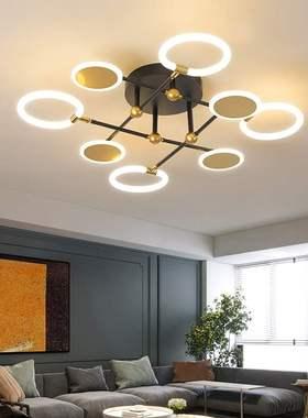 客厅灯北欧吸顶灯现代简约家用大气网红灯卧室灯餐厅创意个性灯具