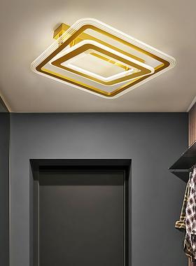 轻奢卧室吸顶灯主卧北欧简约现代创意个性三色房间客厅家用网红灯
