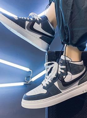 高帮aj男鞋2021年新款韩版潮流夏季秋季男生运动板鞋休闲百搭潮鞋