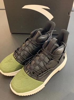 安踏篮球鞋男鞋2019冬季新款加绒加厚棉鞋防滑耐磨运动鞋11941850