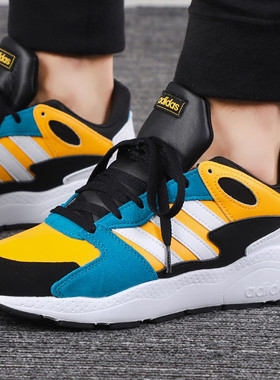 Adidas阿迪达斯男鞋2019冬季新款NEO运动休闲鞋轻便跑步鞋EF1059