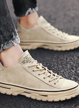 男鞋冬季潮鞋2019新款韩版潮流百搭网红英伦风秋季运动休闲鞋板鞋