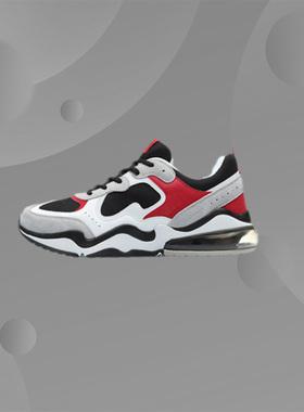 李宁男鞋COUNTERFLOW2019新款气垫减震休闲鞋秋冬季运动鞋AGCP117