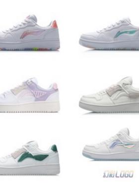 李宁板鞋女鞋男鞋百搭小白鞋冬季新款运动鞋情侣休闲鞋AGCP362