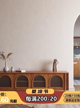 木陌家具北欧复古创意实木电视柜组合墙柜边柜客厅小户型现代意式