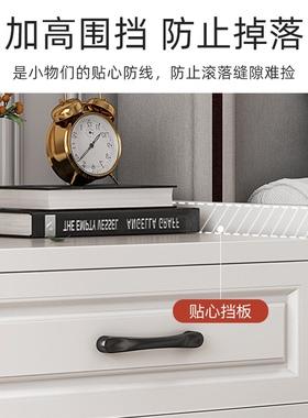 简约时尚床头柜三n抽屉加高耐用收纳斗柜出租房客厅家具摆放展示