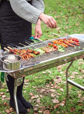 烧烤炉家用木炭户外烧烤架工具碳烤炉用品烤肉炉子商用无烟烤架子