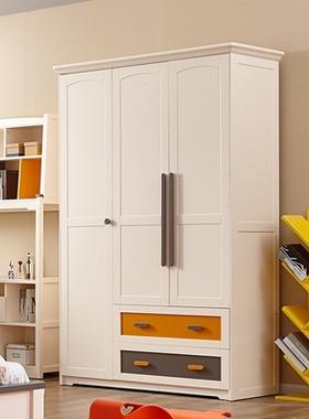 掌上明珠儿童卧室床青少年次卧1.5m床床头柜书桌衣柜组合成套家具