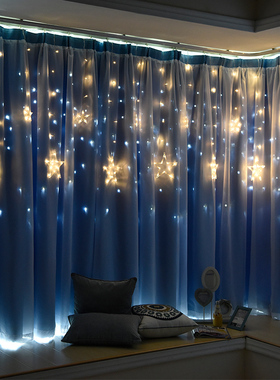 墙上装饰创意星星灯墙壁挂件家装店铺楼梯走廊室内玄关墙面装饰品