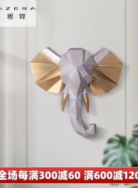 创意电视背景墙面装饰挂件客厅房间家装饰品轻奢墙饰挂饰北欧壁饰