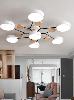 北欧后现代客厅吸顶灯具简约创意个性吊灯书房卧室马卡龙灯饰照明