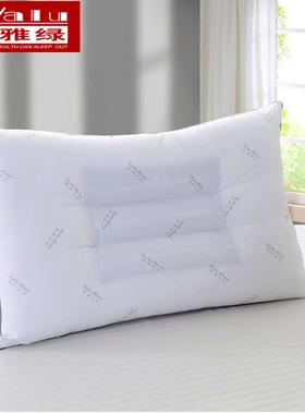 雅绿决明子定型枕防螨虫枕头健康护颈椎成人舒适单人全棉防螨枕芯