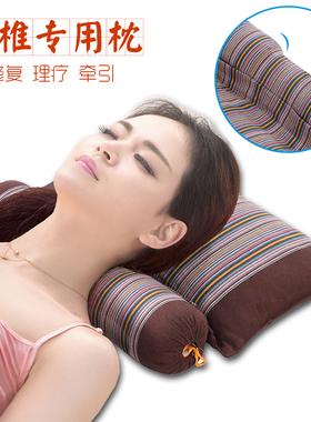老粗布全荞麦枕头单人健康纯乔麦皮修复护颈椎睡觉理疗矫正专用